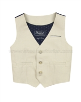Mayoral Boy's Linen Vest