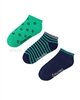 Mayoral Boy's Short Socks Navy / Green
