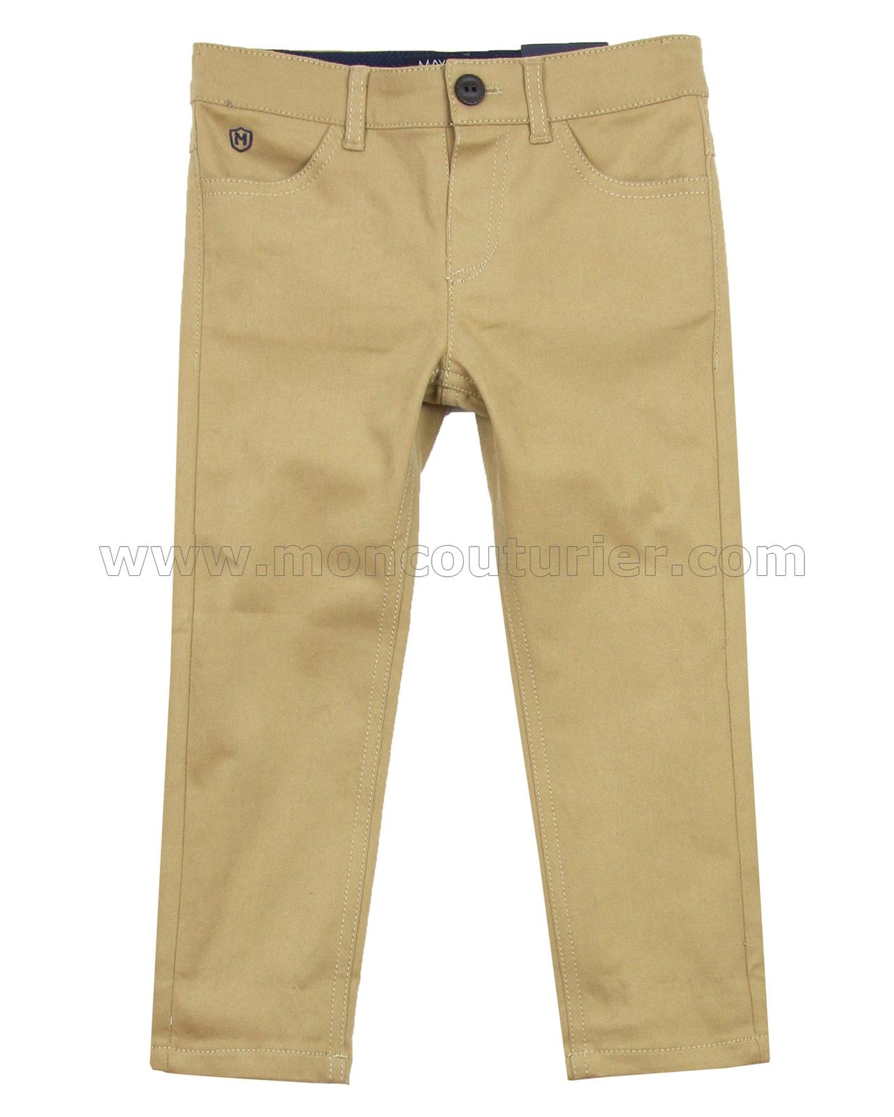 Mayoral Boy/'s Black Slim Fit Denim Pants Sizes 2-9