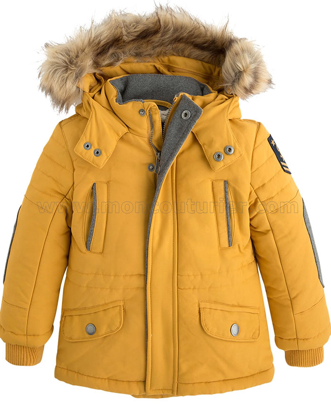 Mayoral Boy's Parka Coat - Mayoral