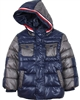 Mayoral Boy's Camo Print Coat Blue