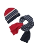 Mayoral Boy's Red Hat and Scarf Set