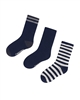 Mayoral Boy's Navy Striped Socks
