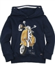 Mayoral Boy's Navy Sweatshirt with Motorcycle