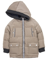 Mayoral Boy's Puffer Coat with Hood