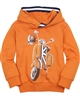 Mayoral Boy's Orange Sweatshirt with Motorcycle