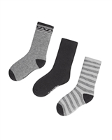 Mayoral Boy's Gray Striped Socks
