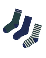 Mayoral Boy's Green Striped Socks