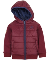 Mayoral Boy's Padded Jacket with Hood