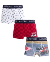 Mayoral Boy's Red 3-piece Boxers Set
