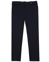 Mayoral Boy's Slim Fit Knit Dressy Pants in Navy