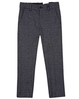Mayoral Boy's Slim Fit Knit Dressy Pants in Navy Mix