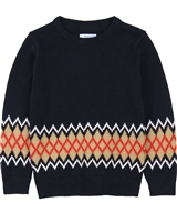 Mayoral Boy's Intarsia Knit Pullover