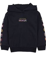 Mayoral Boy's Hoodie with Flags Print