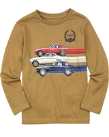 Mayoral Boy's T-shirt with Cars Graphic