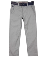 Mayoral Boy's Textured Chino Pants with Belt