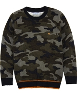 Mayoral Boy's Sweater in Camo Print