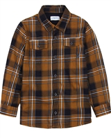 Mayoral Boy's Plaid Shirt with Jersey Lining