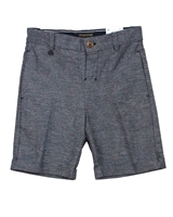 Mayoral Boy's Tailored Linen Shorts in Navy