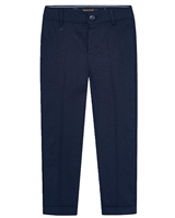 Mayoral Boy's Dressy Linen Pants in Navy