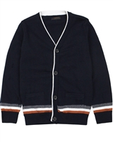 Mayoral Boy's Button Front Knit Cardigan