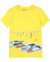 Mayoral Boy's T-shirt with Surfing Boards Print