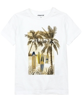 Mayoral Boy's T-shirt with Palms Print