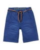 Mayoral Boy's Chino Shorts with Belt in Blue