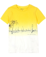 Mayoral Boy's T-shirt with Ocean Print