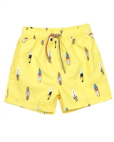 Mayoral Boy's Swim Shorts in Surfboards Print