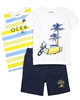 Mayoral Boy's Terry Shorts and Set of Two T-shirts