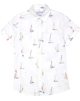 Mayoral Boy's Shirt in Yachts Print