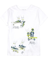 Mayoral Boy's T-shirt with Boots Print