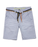 Mayoral Boy's Chino Shorts with Belt in Grey