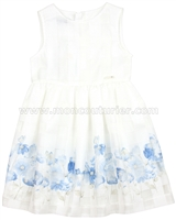 Mayoral Girl's Tiered Tulle and Lace Dress