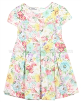 Mayoral Girl's Floral Printed Jersey Dress