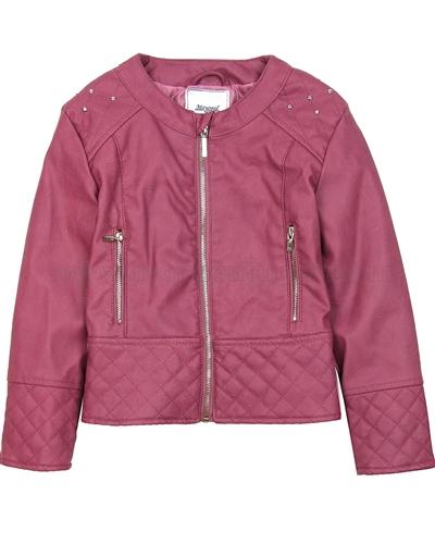 715e33a40 MAYORAL Girl's Pleather Jacket Marsala, Sizes 4-9