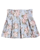 Mayoral Girl's Floral Print Skirt Blue