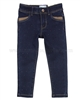 Mayoral Girl's Denim Pants Dark Blue