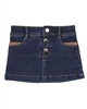 Mayoral Girl's Denim Skirt Dark Blue