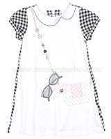 Mayoral Girl's Dress with Purse Applique