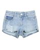 Mayoral Girl's Denim Shorts with Embroidery