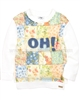 Mayoral Girl's Sweatshirt with Patchwork Print Fron