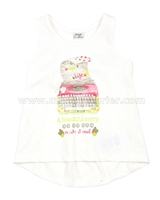 Mayoral Girl's Tank Top with Print