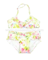 Mayoral Girl's Printed Bikini Lime