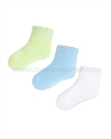 Mayoral Girl's Short Socks Set Green/Blue