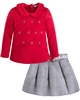 Mayoral Girl's Top and Pleated Skirt Set