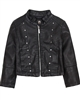 Mayoral Girl's Black Pleather Jacket