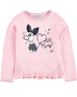 Mayoral Girl's Sweater with Print