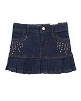 Mayoral Girl's Denim Mini Skirt